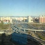 Photo taken at 健翔桥 Jianxiang Bridge by Carryl B. on 4/22/2013