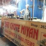 Photo taken at Chotte Miyan by Mohsin K. on 1/12/2013