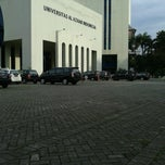 Photo taken at Universitas Al Azhar Indonesia by Fathul R. on 7/25/2013