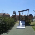 Photo taken at Parque de Juegos El Galeon (Parque del Barco Pirata) by Mari Jose P. on 4/14/2013