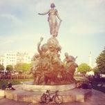 Photo taken at Place de la Nation by Frantisek Z. on 4/20/2013