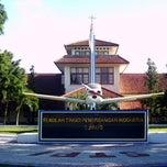 Photo taken at Sekolah Tinggi Penerbangan Indonesia by Evlin Regina J. on 3/5/2013