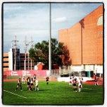 Photo taken at Ed Weir Track & Soccer Stadium by Brett M. on 8/16/2013