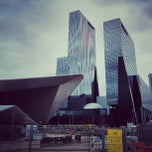Photo taken at Station Rotterdam Centraal by Mitch M. on 7/12/2013