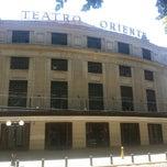 Photo taken at Teatro Oriente by Luis V. on 1/1/2015