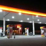 Photo taken at Shell by John B. on 1/24/2014
