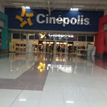 Photo taken at Cinépolis by Future C. on 2/24/2013
