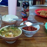 Photo taken at Soto Sore Daging Sapi by Chairul U. on 8/1/2013
