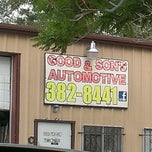 Photo taken at Good and Son's Automotive by Shawn F. on 8/8/2013