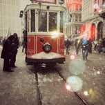 Photo taken at İstiklal Caddesi by Pınar D. on 1/29/2013