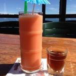 Photo taken at Gar Woods Grill & Pier by Eva on 4/2/2013