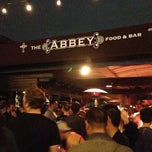 Photo taken at The Abbey Food & Bar by Malcolm F. on 3/30/2013