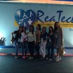 Photo taken at Reatch - X Feira Internacional de Tecnologias em Reabilitação, Inclusão e Acessibilidade by Thais F. on 4/13/2014