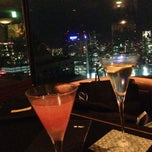 Photo taken at The Bar Hotel NewOhtani by Kohei N. on 5/23/2013