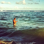 Photo taken at Praia do Pirui by Dan Danival D. on 2/15/2013