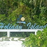 Photo taken at Holiday Island Resort by Aminath R. on 6/1/2013