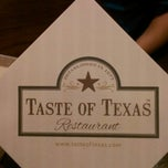 Photo taken at Taste of Texas by Tony T. on 5/19/2013