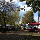 Photo taken at Logan Square Farmer's Market by Heather R. on 10/14/2012