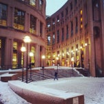 Photo taken at Vancouver Public Library by Ruxandra F. on 12/20/2012