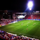 Photo taken at Toyota Stadium by Maggie M. on 5/9/2013