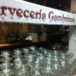 Photo taken at Gambrinus by Gema G. on 3/9/2013