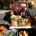 Photo taken at Farmers Market at Minnetrista by Kinsey S. on 10/10/2012