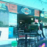 Photo taken at Aquarius chopperia & sushi bar by Rafael V. on 2/21/2013