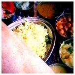 Photo taken at Sagar Vegetarian by Indefinite Adventure on 8/21/2014