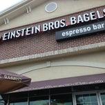 Photo taken at Einstein Bros Bagels by Princess B. on 5/1/2013