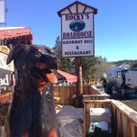 Photo taken at Rocky's Roadhouse & Trading Post by rafaneves on 1/15/2013