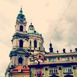 Photo taken at Malostranské náměstí by Daria B. on 5/28/2013