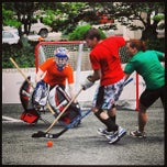 Photo taken at Crystal Rolls Street Hockey by DC Social Sports C. on 8/17/2013