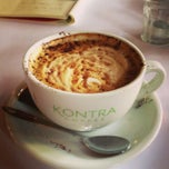 Photo taken at Kontra Coffee by Jinyi L. on 3/7/2013
