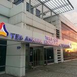 Photo taken at TED Ankara Kolejliler Spor Salonu by Gokhan O. on 3/23/2013