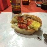 Photo taken at Santak Burger by Mohd H. on 12/3/2014