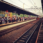 Photo taken at Stasiun Bekasi by Antya W. on 7/29/2013
