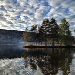 Photo taken at Sognsvann by Dmitry B. on 9/29/2013