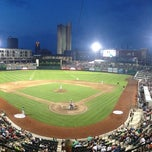 Photo taken at Parkview Field by John N. on 6/21/2013