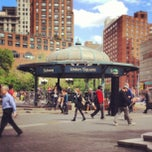 Photo taken at Union Square Park by Peter A. on 5/9/2013