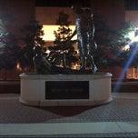 Photo taken at Sportsmanship Statue by Samuel W. on 7/11/2013