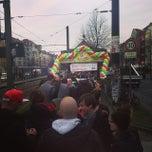 Photo taken at Linie M1 Am Kupfergraben - Schillerstraße / Rosenthal Nord by Anton K. on 3/18/2014