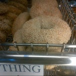Photo taken at Roland Park Bagel Co. by R M. on 7/1/2013