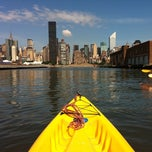 Photo taken at Long Island City Boathouse by Gil L. on 7/2/2011