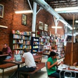 Photo taken at Stories Books & Cafe by Photo L. on 7/3/2012