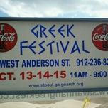 Photo taken at Savannah Greek Festival 2011 by Ben S. on 10/13/2011