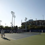 Photo taken at Court 14 - USTA Billie Jean King National Tennis Center by US Open Tennis Championships on 8/28/2011