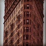 Photo taken at Flatiron Building by Josh R. on 3/23/2012
