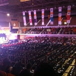 Photo taken at UST Quadricentennial Pavilion by Esthon W. on 3/29/2012