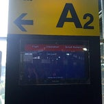 Photo taken at Gate A2 by Puti Alika P. on 4/21/2012