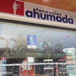 Photo taken at Farmacias Ahumada by Patricio N. on 6/17/2013